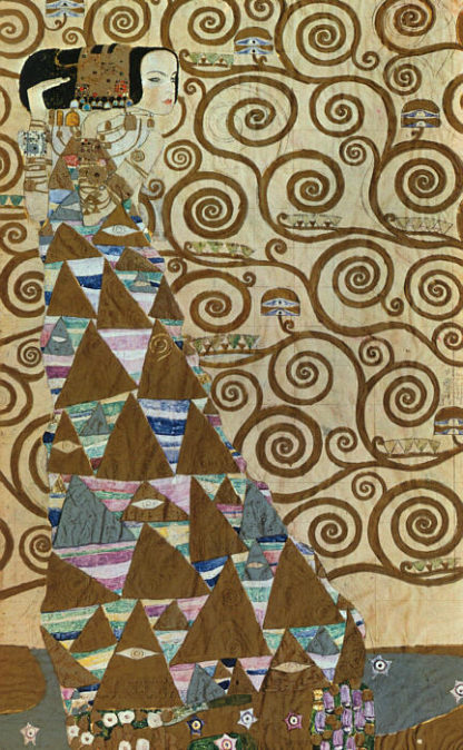 Klimt expectation 1909