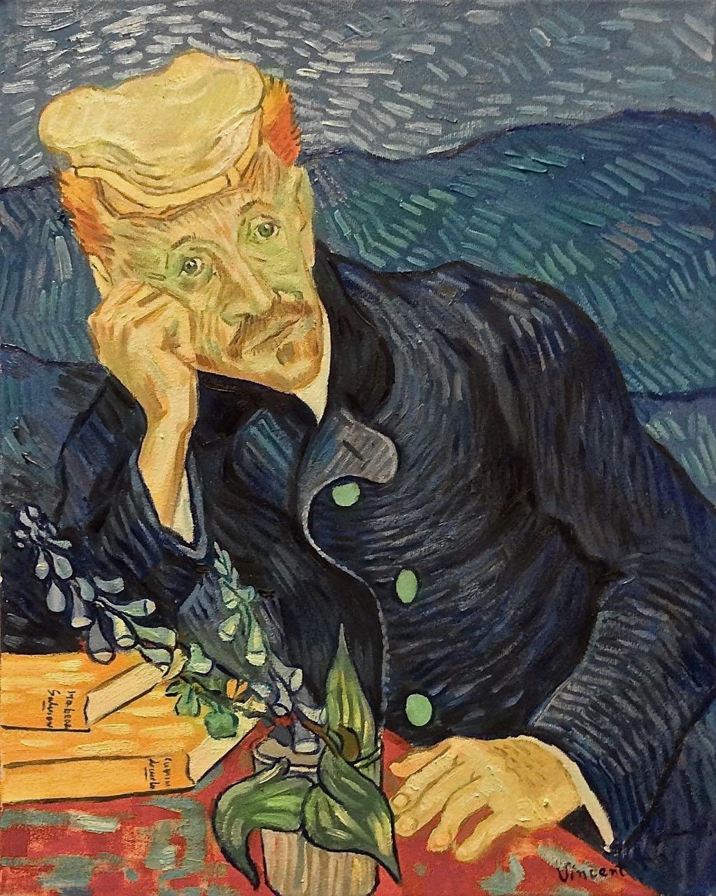 Riproduzionidarte 100513 Portrait of Dr Gachet nostro - 1