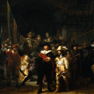 Rembrandt: La Ronda di Notte