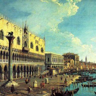 Palazzo Ducale a Venezia - Canaletto 1
