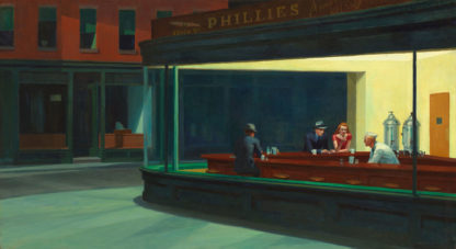The Nighthawks - Edward Hopper 1942
