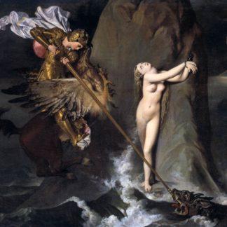 Ingres: San Giorgio e il drago