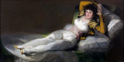 Goya: La maja vestida