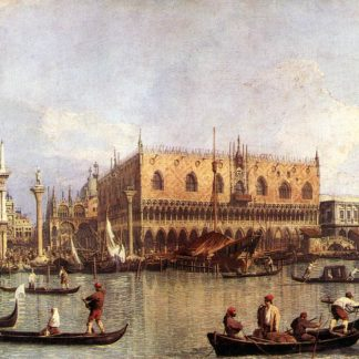 Canaletto: Il Bucintoro davanti a Palazzo Ducale 1