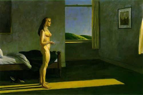 Edward Hopper - A woman in the sun