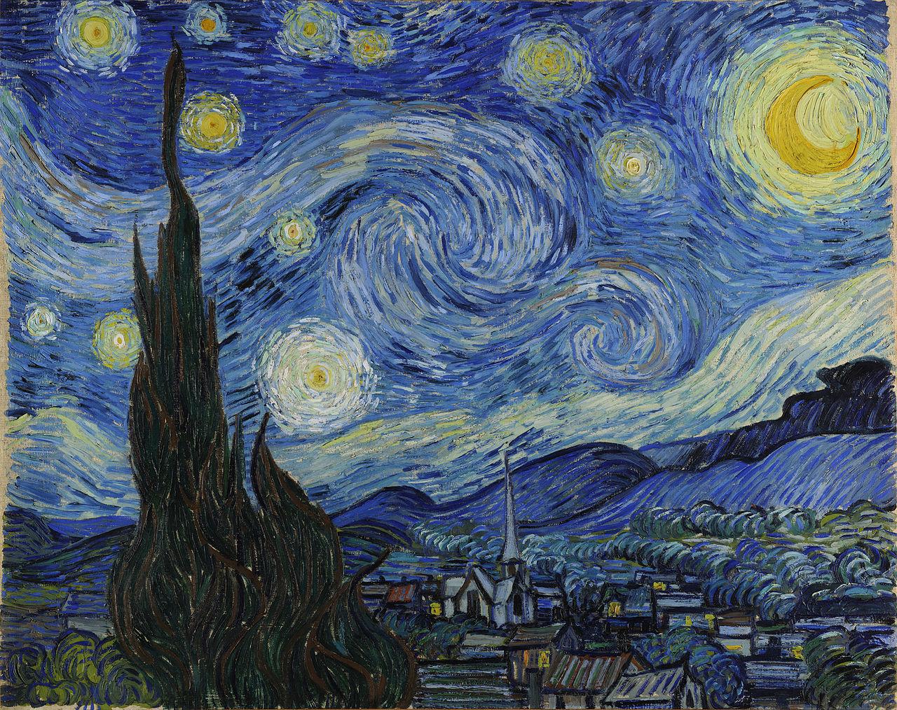 Van Gogh: Starry night
