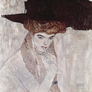 Gustav Klimt: The Black Feather Hat