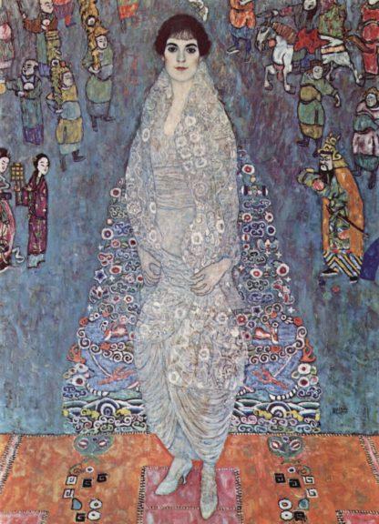 Gustav Klimt: Portrait of Baroness Elisabeth Bachofen-Echt