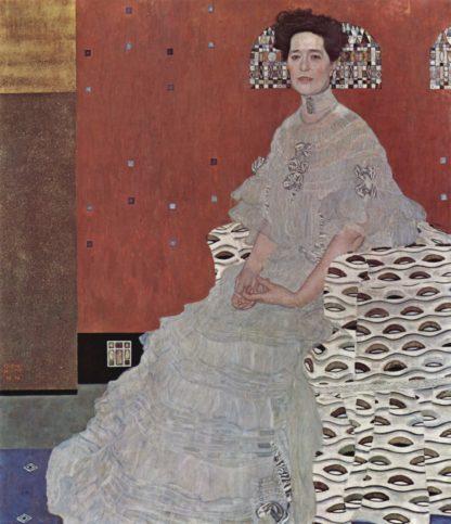 Gustav Klimt: Portrait of Fritza Riedler
