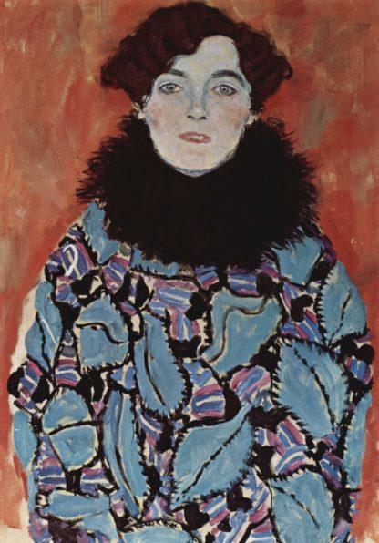 Gustav Klimt Portrait of Johanna Staude