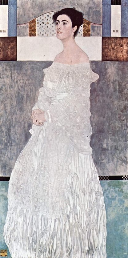 Gustav Klimt Ritratto Margarethe Stonborough Wittgenstein