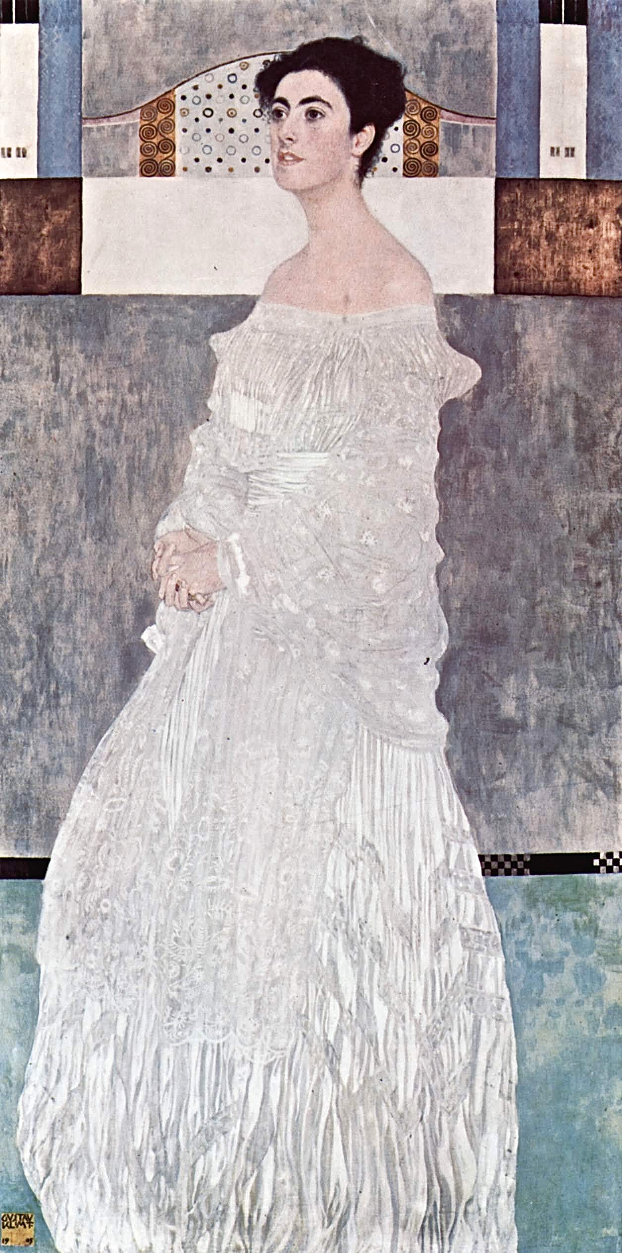 Gustav Klimt Ritratto Margarethe Stonborough Wittgenstein