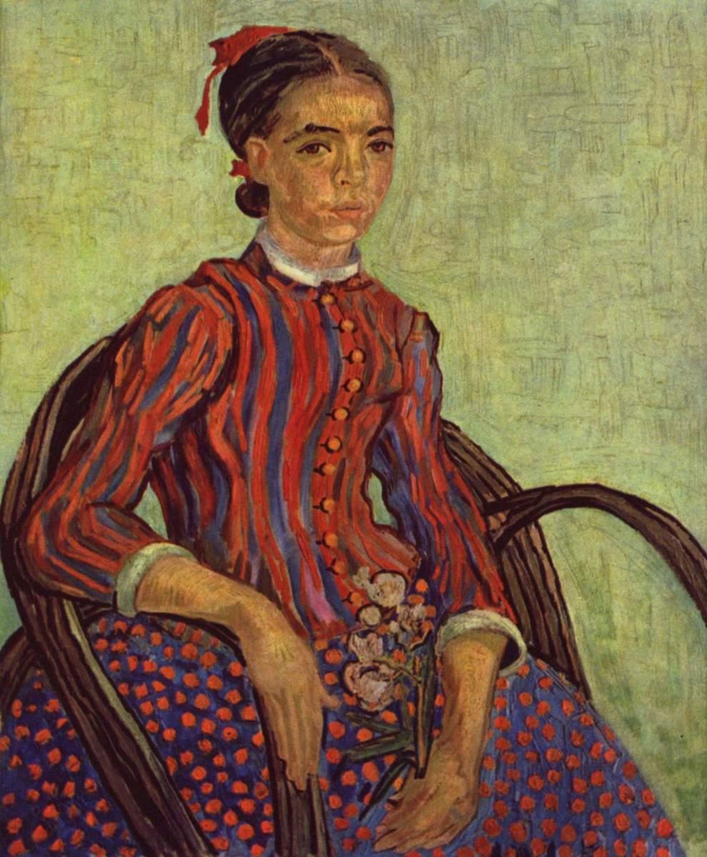 Van Gogh: La Mousmè