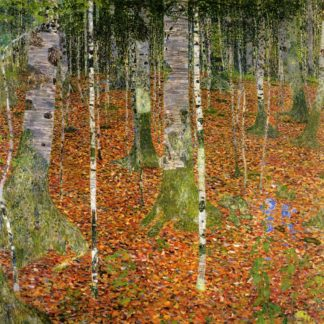 Farmhouse with Birch Trees, 1903